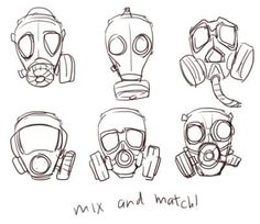 Best Cyberpunk Art Girl Gas Masks Ideas Best Cyberpunk Art Girl Gas Masks IdeasYou can find Gas masks and more on our website. Gas Mask Drawing, Gas Mask Art, Masks Art, Gas Masks, Drawing Reference Poses, Drawing Poses, Drawing Sketches, Design Reference, Girl Face Drawing
