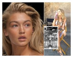"""""""GIGI HADID's NATURAL LOOK"""" by parischarlton ❤ liked on Polyvore"""