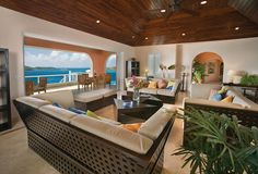 beautiful living room, with pocket sliding doors that open up to patio. enlarging the space, and enjoying the view. absolutely fabulous!!