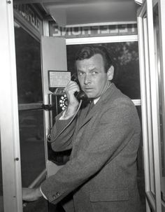 "Sept. 17, 1963. ""The Fugitive"" starring David Janssen premieres on ABC-TV."