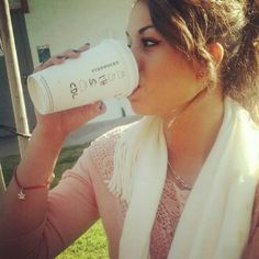 Princess with her Starbucks �������� #Goddess #Damaris #Princess #Beautiful #Pinup #Girl #Cute #Amazing #Perfect #Young #Latina #Celebrity #Model #Flawless #Gorgeous #Love #Her #Hair #Makeup #Eyes #Fashion #Style #Smile #Pretty #Beauty #Instalove #Worship #Tribute #Yum #Perfection http://tipsrazzi.com/ipost/1523786720150322274/?code=BUlk_LYBHxi