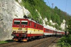 Bastard 371 odjakživa patří k vlakůn Berlín - Praha.