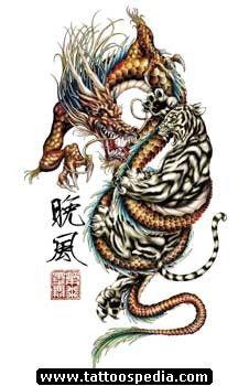 Dragon Tattoos 383