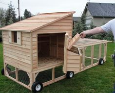 Portable Chicken Coop On Wheels | for please let us know.