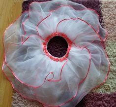 DIY - Zrób to sam, Handmade, Upcykling, Moda, Dekoracje, Inspiracje: Spódniczka KWIAT z różyczkami DIY // Skirt FLOWER ...