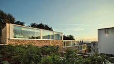 Caramoniña, Santiago de Compostela #sunset #architecture #design #garden #home