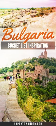 Travel Inspiration for Bulgaria-- Tanks that Get Around is an online store offering a selection of funny travel clothes for world explorers. Check out www.tanksthatgetaround.com for funny travel tank tops and more travel destination guides!