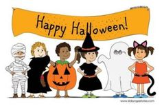 Happy Halloween Images for Kids