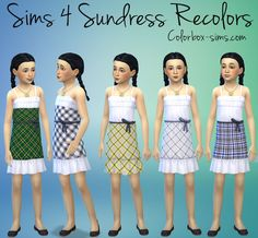 Colorbox, Sims 4, Party Wear, Summer Dresses, Clothing, How To Wear, Fashion, Man's Hairstyle, Outfits