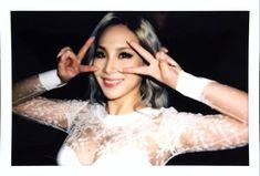 """CL: """"#maybellineny X @ellekorea"""""""