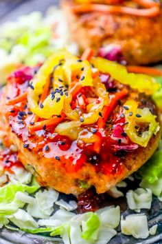 This Grilled Sweet Chili Asian Salmon Burgers Recipe is a good for our Breakfast made with wholesome ingredients! Easy Meat Recipes, Entree Recipes, Salmon Recipes, Potato Recipes, Lunch Recipes, Breakfast Recipes, Cooking Recipes, Sweets Recipes, Delicious Recipes