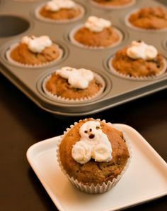 Halloween Muffins Activity