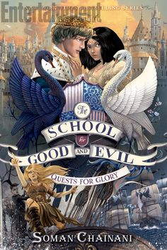 #CoverReveal The Camelot Years (The School for Good and Evil: Quests for Glory, #1) by Soman Chainani