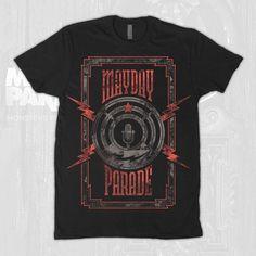 Lightning Mic Black T-Shirt