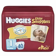 Buy Huggies Supreme Little Snugglers Diapers, Size 1, up to 14 lbs - 40 ea   Helps keep in runny mess fits babies up to 14 pounds leaklock protection. myotcstore.com - Ezy Shopping, Low Prices & Fast Shipping.
