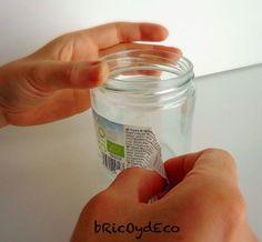 Cómo quitar las etiquetas de los tarros de cristal de forma fácil y rápida