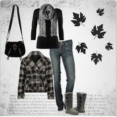 Love everything except the UGGS.