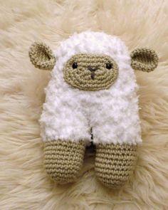 Créez un doudou en laine et en crochet pour votre bébé   Create a woolen and crochet blanket for your baby