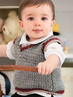 Baby Boy Crochet Rou
