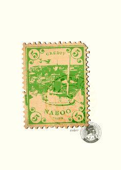 Star Wars Stamps - Design - ShortList Magazine