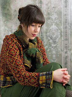 Scottish Heritage Knits by Martin Storey, published by Rowan #knitting
