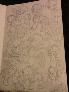 i got a new sketchbook so i did a little doodlY DOO i miGht ink and color (i did this from memory sorry if your oc is inaccurate) @sanayasir @mlpfun @mypantsaretoosh @xayrolt @mudkip289 @Gemthehybrid @eeeewewerfrxctv @lybarn @ImDEADXXSorry @tkdogg @RainbowCat2014 @SlothsInHats @deadgoa7