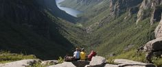 If you love to hike, you'll love the hundreds of miles of trails found in this east coast paradise. Gros Morne, Hiking Places, Newfoundland And Labrador, Best Hikes, Amazing Architecture, East Coast, North America, Travel Destinations, Paradise