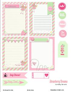 Project Life - Pocket Scrapbooking Archives - Page 10 of 11 - Vintage Glam Studio Free Planner, Planner Pages, Happy Planner, Printable Planner, Planner Stickers, Free Printables, Work Planner, Project Life Freebies, Project Life Cards