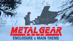 Enclosure x Main Theme Piano Cover in Unreal Engine 4 (Sniper Wolf) Metal Gear Games, Metal Gear Solid Series, Mgs V, Piano Cover, Main Theme, The Best Is Yet To Come, Unreal Engine, Ps4, Gears