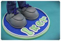Zapatos para fofucho en goma eva  www.xeitosas.com