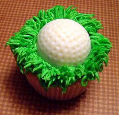 My dad is turning 60 in 2 weeks. I think these might be a great idea for his celebration!  Golf Cupcake2 by cupcakeobsessed, via Flickr