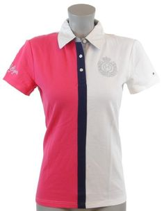 Tommy Hilfiger Women Classic Fit Logo Polo Shirt ♥