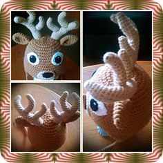 Crocheted Big Buck Deer Hat Pattern Pattern By Pam Woods