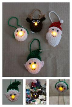 Lighted Ornament Free Crochet Pattern