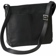 Lifetime Leather Medium Sling Bag is big enough to hold all you ...
