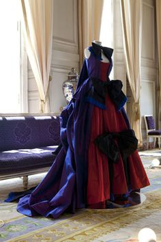 Vivienne Westwood at Le Grand Trianon  Versaille - photo Julie Ansiau.