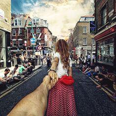 Girlfriend Drags Photographer Boyfriend Around the World by the Hand: Brick Lane – London, England ❤️