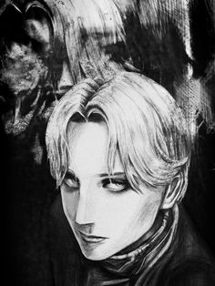 Johan Liebert sketch from Monster by Naoki Urasawa. I don't normally draw people or faces close up but I really thought Johan's character was amazing and I wanted to capture how beautiful he is sup...