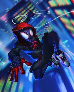 Spider Man Un Nuevo Universo Heroe Pinterest Hombre