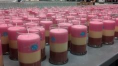 Production of the best candle in the world!