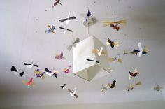 DIY paper birds