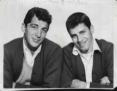 Jerry Lewis and Dean Martin 1954