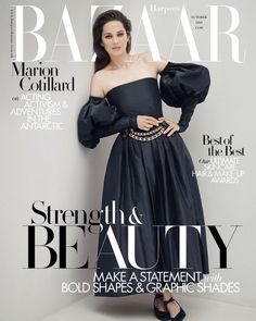 Octubre 2020 Marion Cotillard Style, Tapas, Single Wardrobe, Haute Couture Dresses, Fashion Story, Harpers Bazaar, Casual Street Style, Runway Models, Beautiful Models