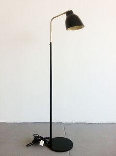Navire Floor Lamp by Atelier de Troupe #blackandbrass
