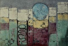 "Making History by Anne Moore - Monotypes, 10"" x 15"" block #art #printing"