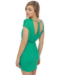 Love the green from LuLus $35.50