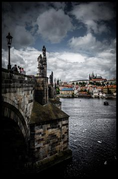 Prague in color by Václav Verner | http://www.iconhotel.eu/en/contact/location