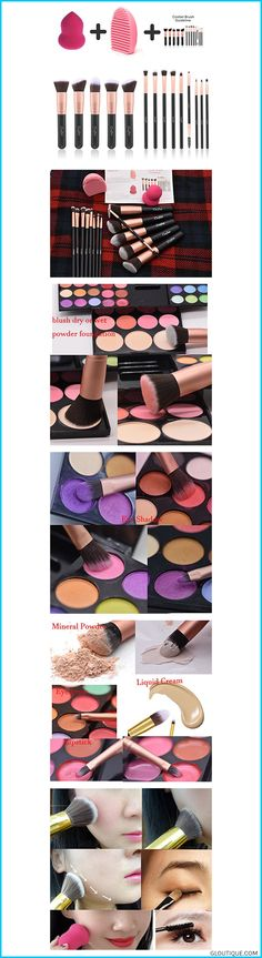 Come with 2 Bonus Gift: Professional Makeup Brushes with Blender and Brush Cleaner, Multipurpose Makeup Beauty Sponge Blender, can be used wet or dry #women Makeup Brushes Powder Foundation Concealer Eyeliner Makeup Brush Set Cosmetics Tool with Beauty Sponge Blender Cleaner Rose Gold 14 Pcs #Makeup #Brushes #Powder #Foundation #Concealer #Eyeliner #Makeup #Brush #Set #Cosmetics #Tool #with #Beauty #Sponge #Blender #Cleaner #Rose #Gold #14 #Pcs #Reviews