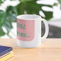Mug Designs, Water Bottles, Sell Your Art, Be Still, Dishwasher, It Works, Ceramics, Mugs, Printed