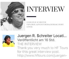 THE INTERVIEW Thank you very much to @hftours for this great interview  http://www.hftours.com/juergen-r-schreiter/ - 🎥 Visionary, Location Scout © http://www.JuergenSchreiter.com www.Facebook.com/JRSchreiter - Follow @YouTube: www.YouTube.com/jschreiter  www.Twitter.com/schreiter  #interview #interviews #insights #insight #personaltrainer #personality #celebrity #entrepreneur #lifestyle #blogger #visionary #artist #motivation #motivationalquotes #blockchain #bitcoin #cryptocurrency